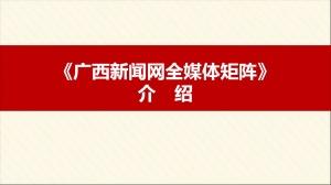 广西新闻网全媒体矩阵介绍
