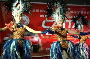 2015中国-东盟拉力赛车队抵达印度尼西亚