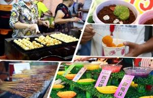 高清:柳州螺蛳粉美食节引万人空巷 吃货云集
