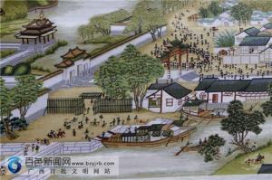 凌云古稀老人三年半绣出《清明上河图》