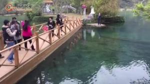 鹅泉古桥胜景 乐善靖西之美