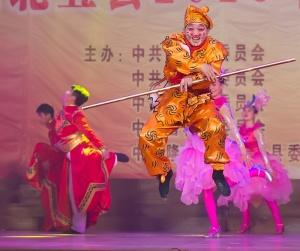 百色桂西北五县联合迎春晚会精彩上演