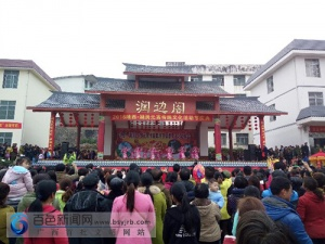 靖西:数万中越边民共庆元宵节