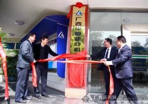 广西华磊新材料有限公司在平果县揭牌