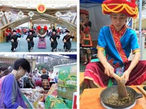 """[图集]香港""""赏心乐食""""美食文化节广西特产人气高"""