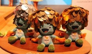 里约奥运奖牌公布