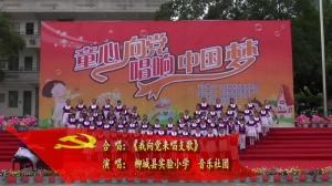 《我向党来唱支歌》柳州市柳城县实验小学