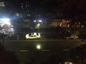 【梧州苍梧县发生5.4级地震】梧州开始下大雨