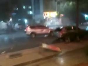 【梧州市苍梧县发生5.4级地震】震后梧州长洲区新兴二路巴西烤肉门口一带情况
