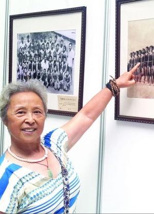 广西第一位女子体操运动员容栖栖 天生会劈叉(图)
