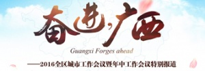 奋进,广西——2016全区城市工作会议暨年中工作会议