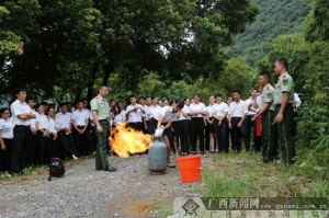 桂林:800余名国企员工齐聚一堂学防火