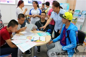 柳州中院未成年人刑事审判庭用行动帮教传递正能量