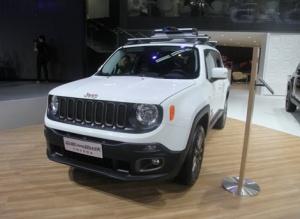 北京车展:广汽菲克Jeep自由侠