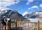 专家称本世纪末瑞士阿莱奇冰川将消失