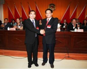 南宁市邕宁区第三届委员会第一次会议胜利召开