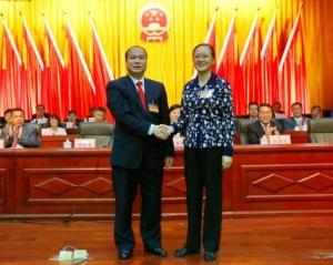 南宁市邕宁区第三届人民代表大会第一次会议隆重召开