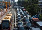 印尼雅加达早晚高峰实行单双号限行制度