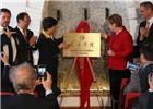 孔子学院落户德国小城 默克尔揭牌称赞