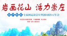 """2016""""岩画花山 活力崇左""""——桂声智库专家团走读崇左"""