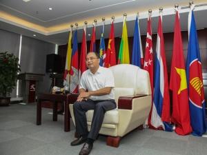 中国-东盟矿业合作论坛秘书处接受媒体联合采访