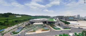 VR|航拍南宁国际会展中心