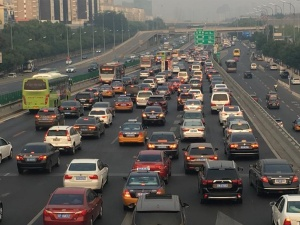 北京交通节前现严重拥堵 晚高峰提前(组图)