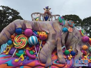 """东京迪士尼乐园万圣节""""变身""""(组图)"""