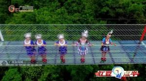 广西首座悬索玻璃桥建成 国庆亮相