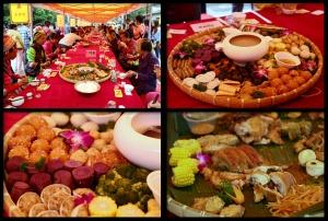 高清:簸箕宴饱足味蕾 国庆就来黄姚聚餐吧!
