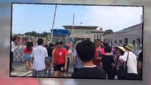 东兴口岸游人如织 国庆长假边境旅游格外红火