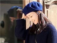 赵子琪慵懒随性 贝雷帽碎花裙少女力MAX