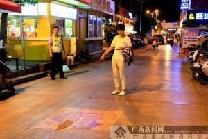 百色:少年肇事逃逸 警方4小时缉凶