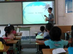 宾阳县小学壮汉双语优质课比赛在邹圩镇举行