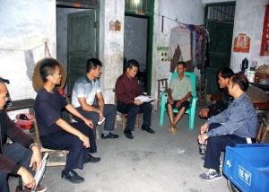 宾阳县多部门联动地毯式巡查电信网络诈骗涉案重点村