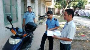 甘棠镇组织开展电动车火灾专项整治活动