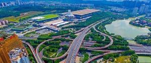 高清:南宁城市立交桥美景