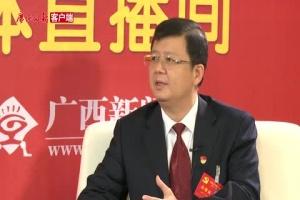 [党代表·代表说]访党代表、贺州市市长李宏庆