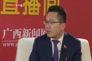 访党代表、陆川县委书记蒙启鹏