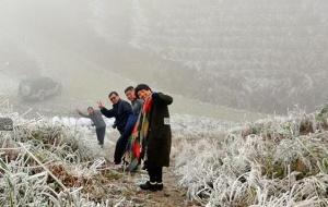 冰雪下的三江现极致美景