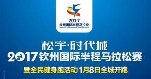 2017钦州国际半程马拉松赛暨全民健身跑活动