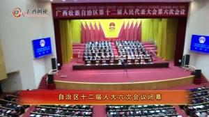 自治区十二届人大六次会议闭幕