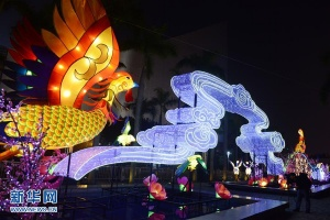 香港:彩灯迎新春