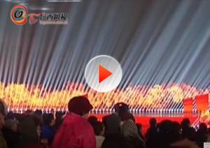 春晚桂林分会场:灯光舞美打造最炫实景山水舞台
