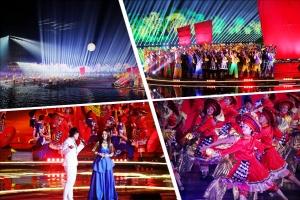 高清:2017春晚桂林分会场呈现漓江仙境