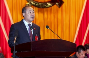 中国共产党灵山县十三届代表大会第二次会议召开