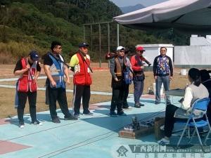 广西飞碟队韦雕与北京广东等队高手比拼获第一名