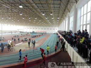 全国室内田径锦标赛首站 广西队获一银一铜