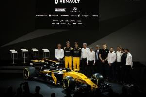 雷诺运动F1车队发布R.S.17