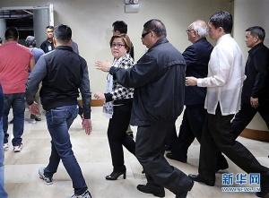 菲律宾警方拘捕涉毒女参议员(图)